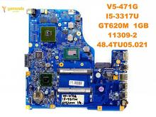 Original for ACER V5-471G laptop motherboard V5-471G I5-3317U GT620M 1GB 11309-2 48.4TU05.021 tested good free shipping