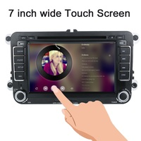 KKmoon 2 Din 7 HD Car DVD Player GPS Navi BT AM FM Radio Universal For