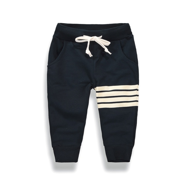 2018 Spring Autumn New Kids Pants Baby Boys Casual Pants Kids Clothing Cotton Boys Long Trousers Baby Boys Clothing Pants