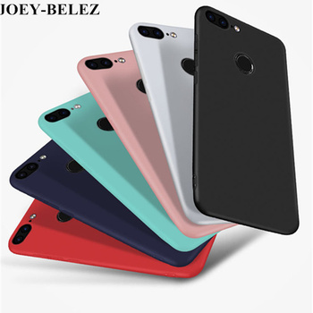 Housing For Huawei Honor 9 Lite Case Huawei PSmart Case Soft Silicone Candy Matte Cover Case For Huawei P Smart 5.65 inch Fundas