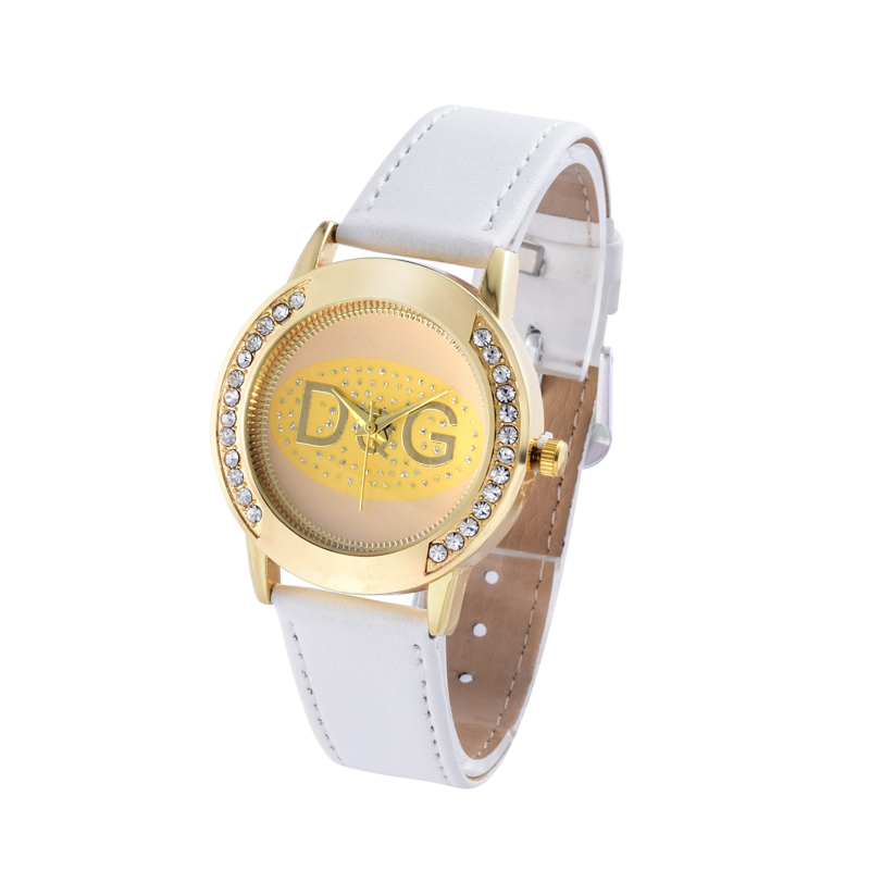 Rhinestones Women's Watches The Top Luxury Famous Brand Wristwatch Fashion Leisure Relogio Feminino Women Quartz Watch Clock
