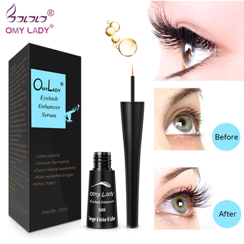 OMYLADY Eyelash Growth Eye Serum Eyelash Enhancer Longer Fuller Thicker Lashes Eyelashes and Enhancer Eye Care Natural plants