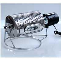 Machine de torréfaction de grain de café de torréfacteur électrique de ménage de DMWD Machine de cuisson de haricot de noix d'acier inoxydable