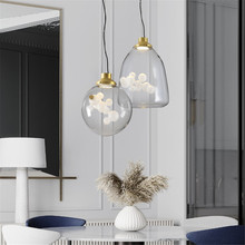 Modern Hanglamp Dining Room Master Bedroom Pendant Lights Loft Light Fixtures Nordic Living Art Lamp