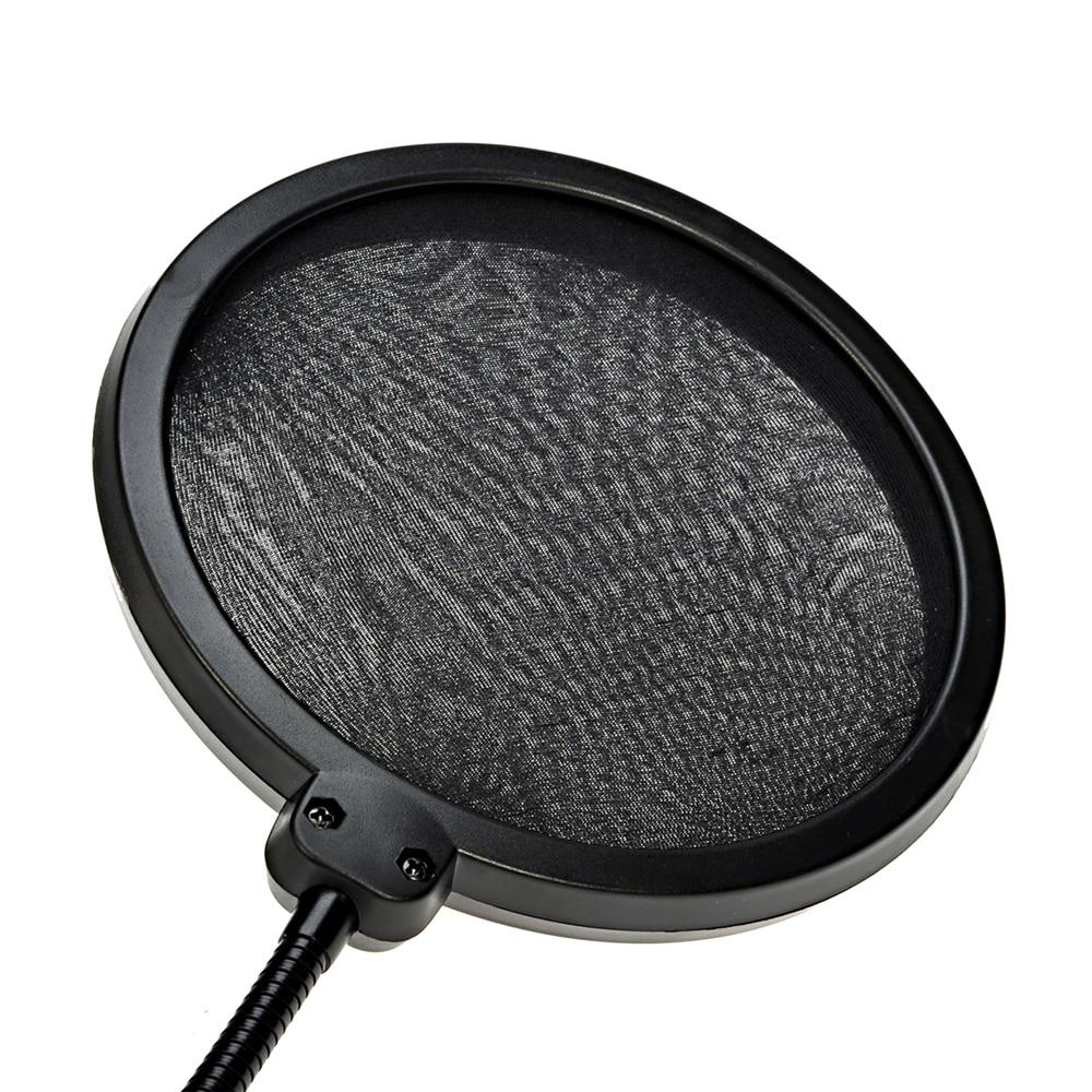 Қос қабатты поп сүзгісі MPF-6 Қара 6 - Портативті аудио және бейне - фото 2