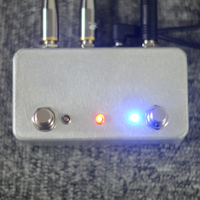 TTONE Hand Made ABY Guitar Pedal Switch Box A B Combiner Footswitch TRUE BYPASS Amp Guitar