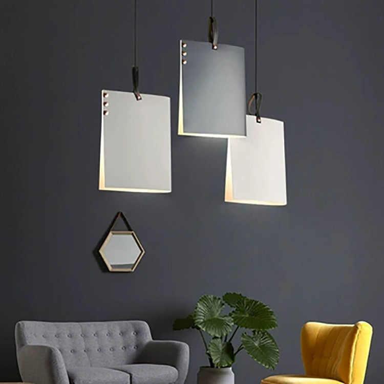 Золотой, черный, скандинавский подвесной светильник, прозрачный стеклянный абажур, подвесной светильник для столовой, кафе, бара, светодиодный подвесной светильник, подвесной светильник