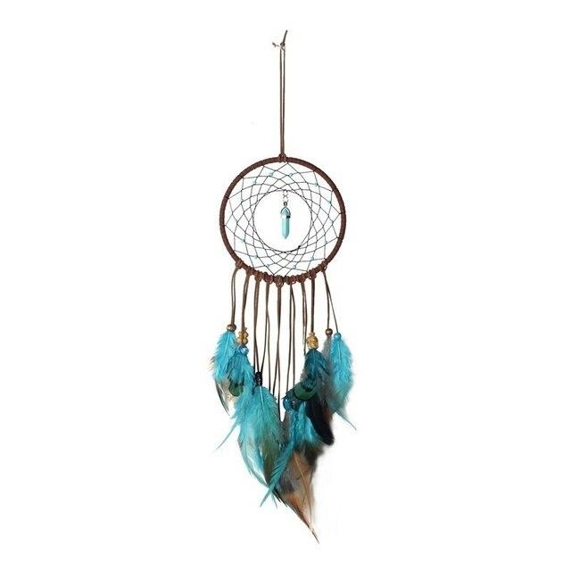 1Pc Indien Retro Leben Baum Bunte Feather Dream Catcher Windspiele Hängen Traum Catcher Weihnachten Party Dekoration