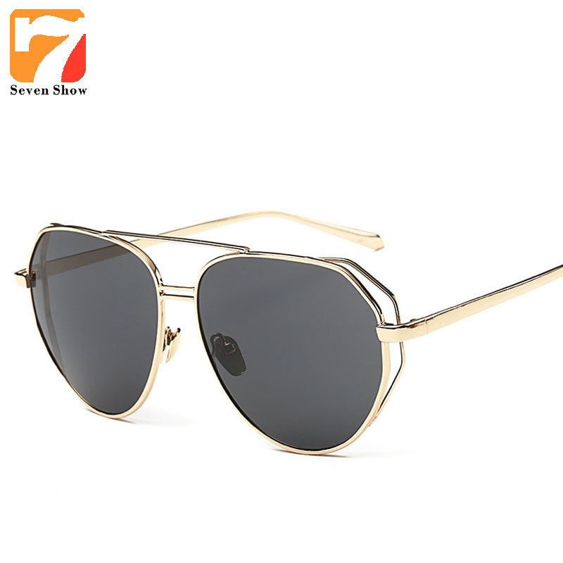 2017 Fashion Oversized Sunglasses Women Men Brand Designer Vintage Sun Glasses For Male Female Shades Oculos