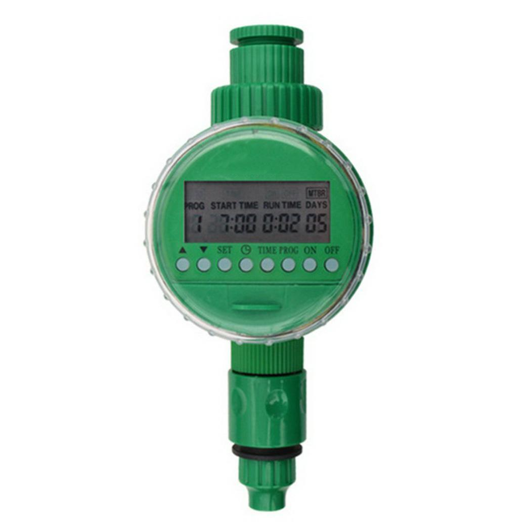 Garden Digital LCD Electronic Irrigation Timer Automatic 0-40 Degrees Celsius Controller Green 0-400 KPA(China)