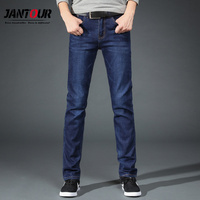 jantour 2018 New Autumn winter jeans men Famous Brand Men Straight Jeans male Cotton pants Long denim Trousers Large size 38 40