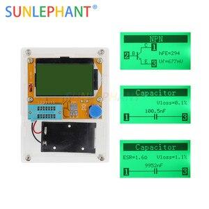 LCR-T4 miernik ESR tranzystor Tester dioda trioda pojemność SCR indukcyjności podświetlenie LCD z przypadku (bez baterii)