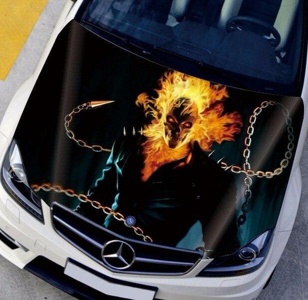 Aliexpresscom  Buy UNIVERSAL CUSTOMIZED Dark Ghost Car Hood - Custom vinyl decals for car hoods