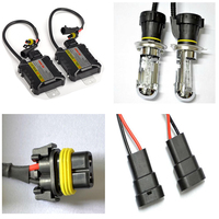 1 Set Xenon HID Headlight Bulbs Conversion Kit H7 55W Single Beam Xenon Bulb Lamp 8000K
