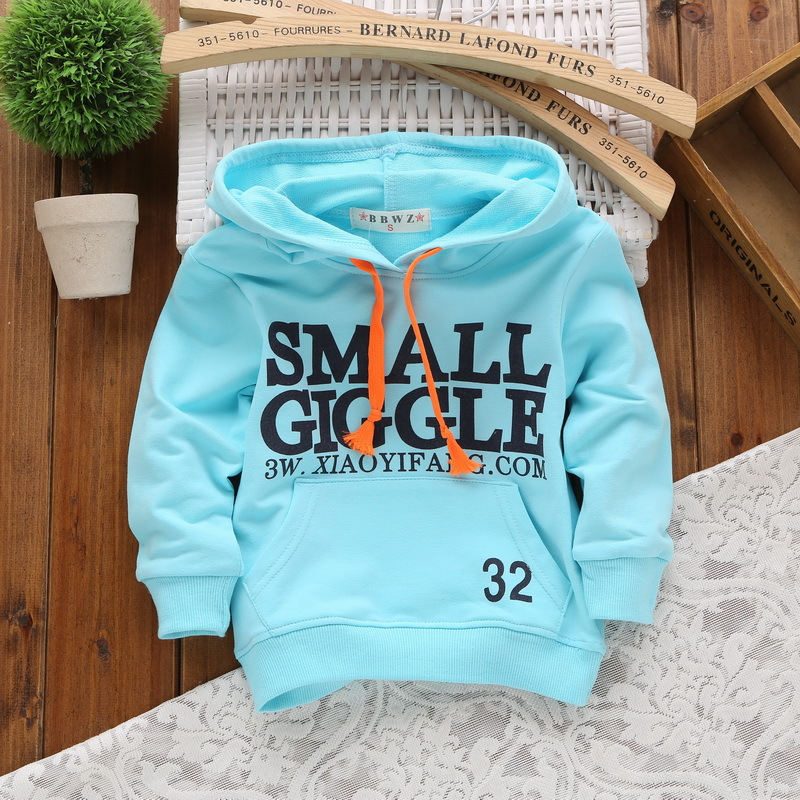 Spring Summer Children Sweatshirts 100% Cotton Boys Girls Hoodies 1-3 Years Kids Baby Boys & Girls Sweatshirt Infant Moletons