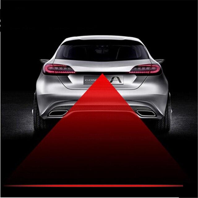 Car Styling Tail Laser Fog Lamp Safety Warning Lights For Ford Edge Explorer Expedition Evos Start