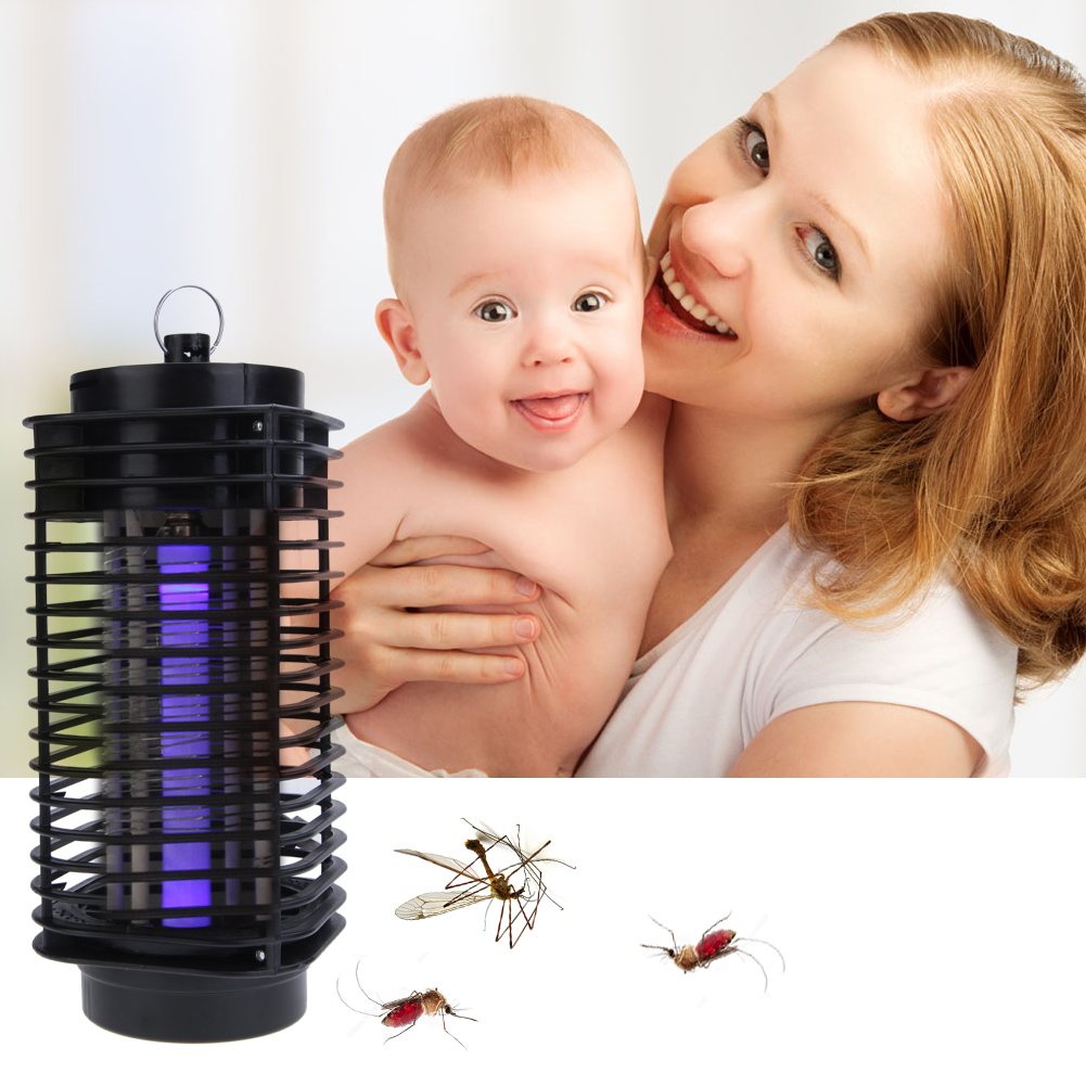 4W 220V 240V LED Electric Mosquito Fly Bug Insect Killer Lamp Mosquito Repellent Bug Insect Killer