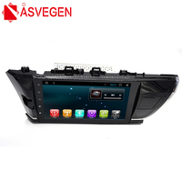 Asvegen 2Din Quad Core Android 6.0 Car Multimedia Player GPS Navigation For Toyota Corolla 2014 with Bluetooth Wifi Radio Map
