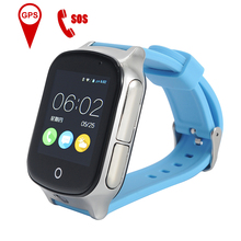 A19 Kids GPS Tracking Watch Waterproof Smartwatch SOS Call Whole Age Location Finder Safety Monitor Band Camera Color Screen