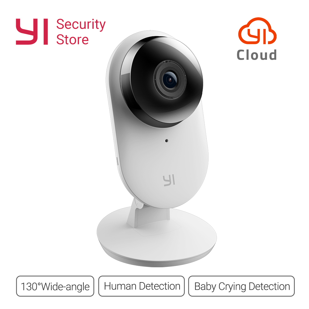 Yi Home Camera 1080P 2 FHD  IP Camera Security Mini Cam Wireless CCTV WIFI Night Vision International Version Camera Owl CMOS armband for iphone 6