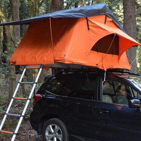 DANCHEL Roof Top up Tent rooftop tents color orange only one set new & DANCHEL Roof Top up Tent rooftop tents color orange only one set ...