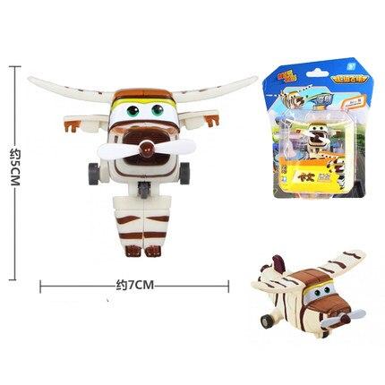12 стилей, мини Супер Крылья, деформация, мини реактивный ABS робот, игрушка, фигурки, Супер крыло, трансформация, игрушки для детей, подарок - Цвет: With box Bello