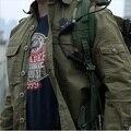 Мужчины Военная Тактическая Рубашки 100% Хлопок Дышащий Рубашки Мужчины С Длинным Рукавом multi-карманы Армии Рубашка