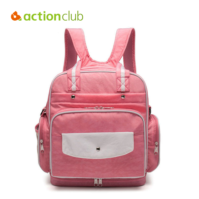 Actionclub Baby Diaper Bag Large Nappy Bags For Mommy Multifunctional Maternity Stroller Bag Waterproof Baby Changing Handbag