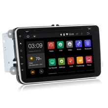 8 Inch 1024 600 2 Din Android 4 4 4 VW Car Audio DVD Player GPS