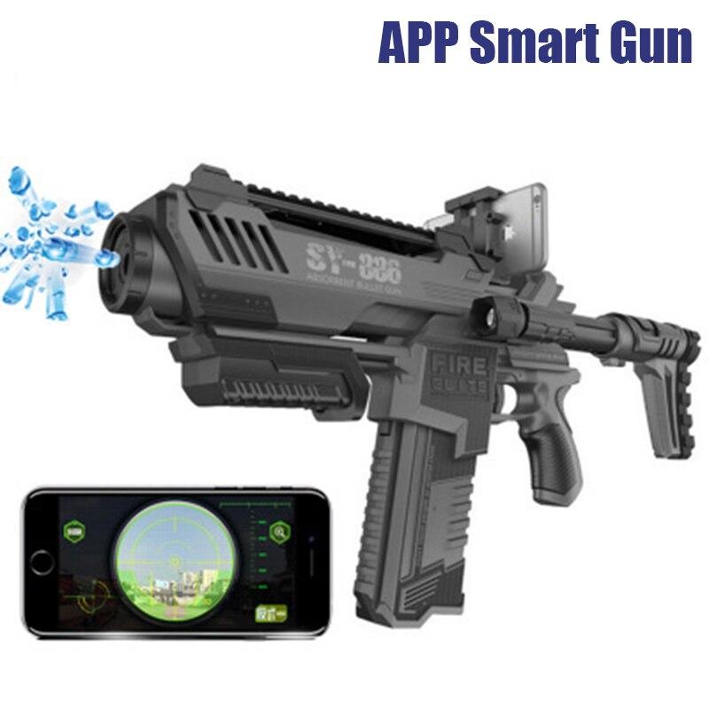 PB Ludique sac jouets SY886 cs interactive simulation d'explosion du gel de l'eau boule électrique jouet pistolet meilleur giftT35