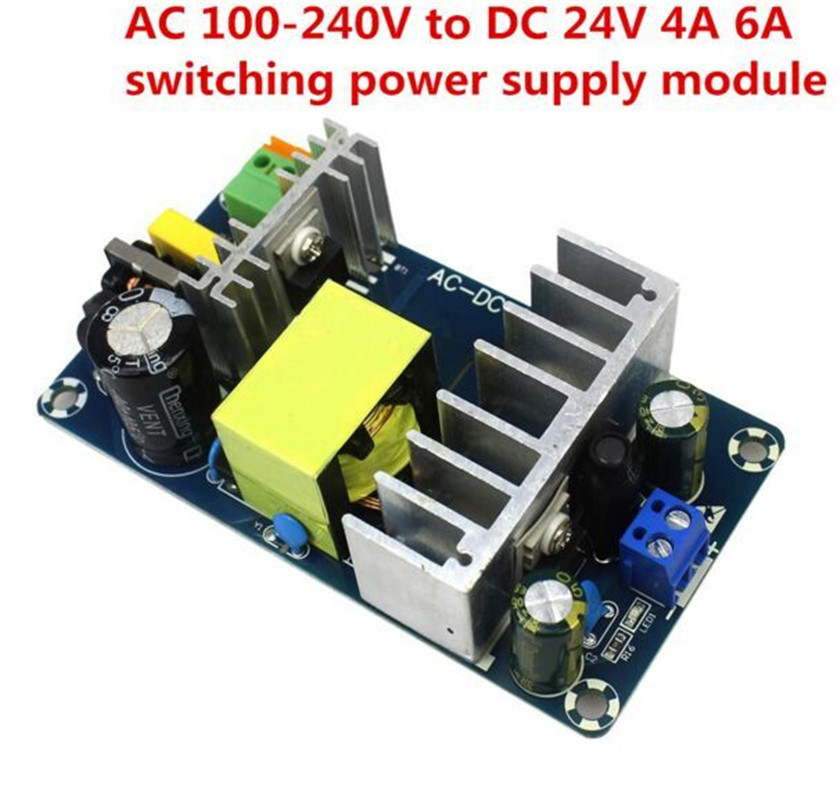 AC 100-240V to DC 24V 4A 6A Switching Power Supply Module AC-DC 4a to 6a 24v switching power supply board ac dc power module