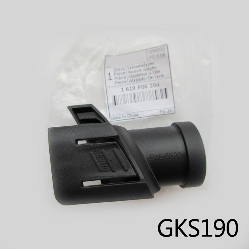 Free Shipping! Electric Motor Saw Special-purpose Vacuum Cleaner Interface For Bosch GKS190,Original Accessories,high-quality!