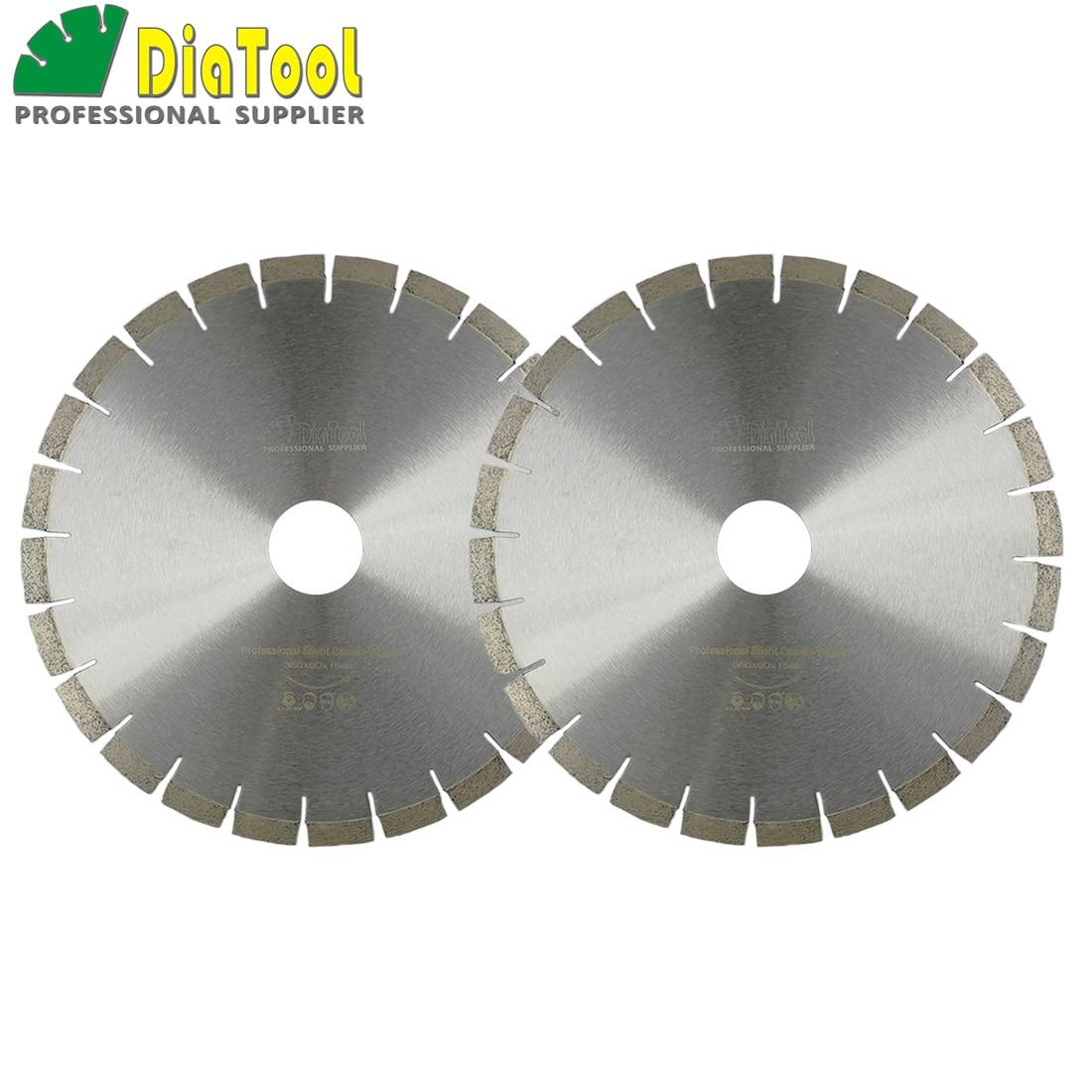 DIATOOL 2pcs 14 Diamond Silent Saw Blade Sandwich Steel Core Cutting Disc Bore 60mm Granite Blade Diamond Wheel Disk vitaly mushkin erotic stories top ten