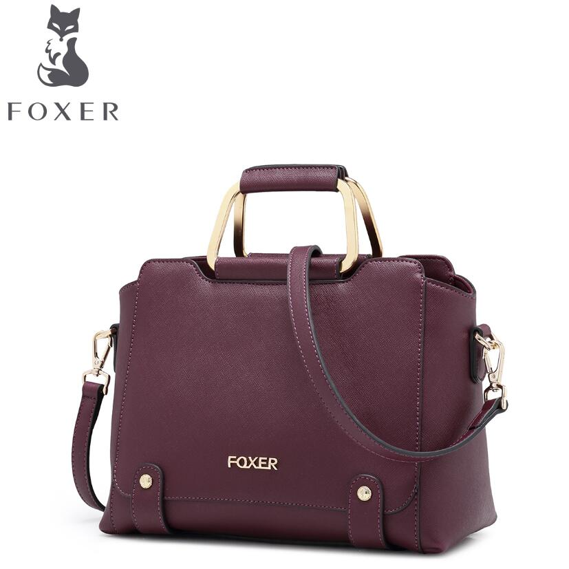 FOXER2017 new high-quality luxury fashion brand handbag serpentine leather bag counter genuine, well-known brands of women laorentou high quality fashion luxury brand 2017 new shoulder bag leather bag counter genuine women s well known brands
