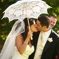 Lace Manual Opening Wedding Umbrella Bridal Parasol Umbrella Accessories For Wedding Bridal Shower Umbrella In Stock
