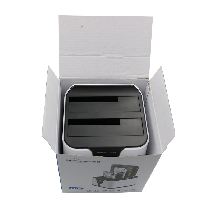 send from RU 2 bay 3.52.5 hdd ssd enclosure sata hard disk boxes usb3.0 clone (3)
