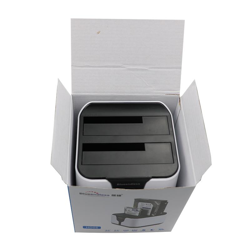 send from RU 2 bay 3.5''2.5'' hdd ssd enclosure sata hard disk boxes usb3.0 clone (3)