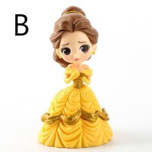 Image 5 - Disney 10 cm S versiyonu Kar Beyaz Prenses Alice Denizkızı şekil Alice in Wonderland Ariel Küçük Denizkızı PVC şekilli kalıp oyuncak