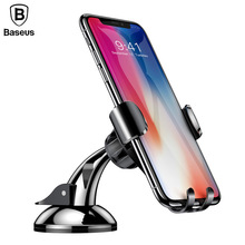 Baseus Sucker Car Phone Holder in car For iphone X 8 Universal Mobile Samsung Xiaomi Suction Stand