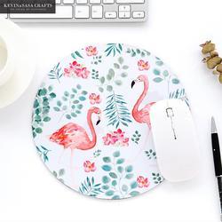 Esteira de mesa de escritório flamingo acessórios de mesa de escritório conjunto organizador de mesa de escritório material escolar alta qualidade mouse ferramentas