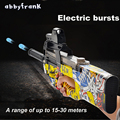 P90 Электрический игрушка для машинок пистолет Graffiti Edition жить CS нападение Бекас оружие воды пуля всплески пистолет смешно открытый Пистолеты...