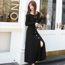 2019 new spring and autumn office lady plus size brand female women girls dress clothes 79304