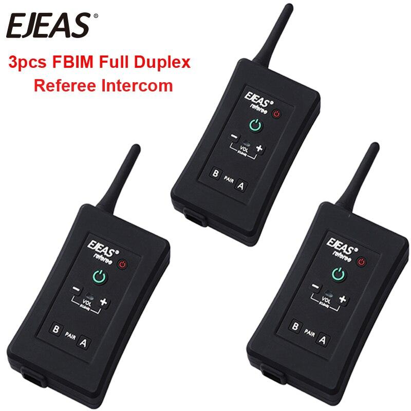 EJEAS Headset Football-Referee-Intercom Bluetooth FBIM Full-Duplex Interphone Handsfree