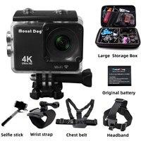 action camera WiFi Remote Control Sports camera Ultra HD 4K Video Camcorder DVR DV go pro Camera Waterproof motion accessories