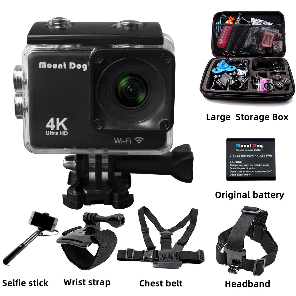 action camera WiFi Remote Control Sports camera Ultra HD 4K Video Camcorder DVR DV go pro Camera Waterproof motion accessoriesaction camera WiFi Remote Control Sports camera Ultra HD 4K Video Camcorder DVR DV go pro Camera Waterproof motion accessories