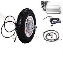 10″ 350W 24V electric wheel hub motor , electric scooter hub motor , electric skateboard kit