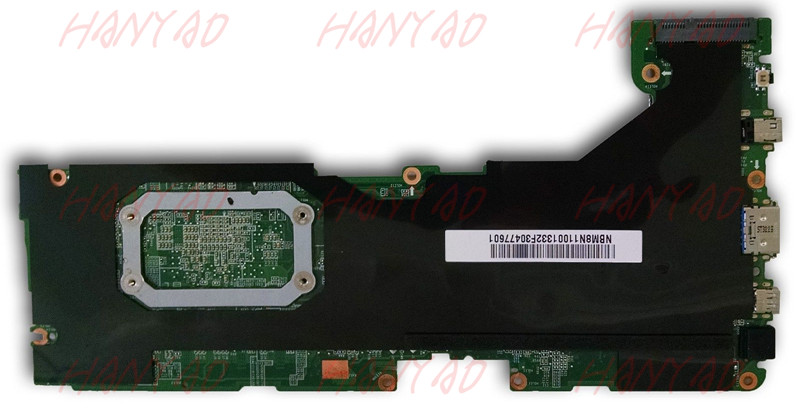 NBM8N11001 For font b ACER b font P3 171 Laptop Motherboard HM77 With SR12S i5 cpu
