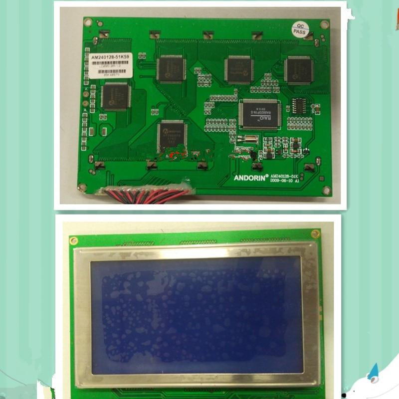 LCM240128ZK monochrome screen LCD screen display industrial control panel injection molding machine sast 10 1 inch display nintaus machine singing old machine 50p lcd screen hw101f 0b 0c 50