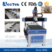 China small cnc cutting/engraving router 6090 for advertising industry AKM6090C with auto tool changer