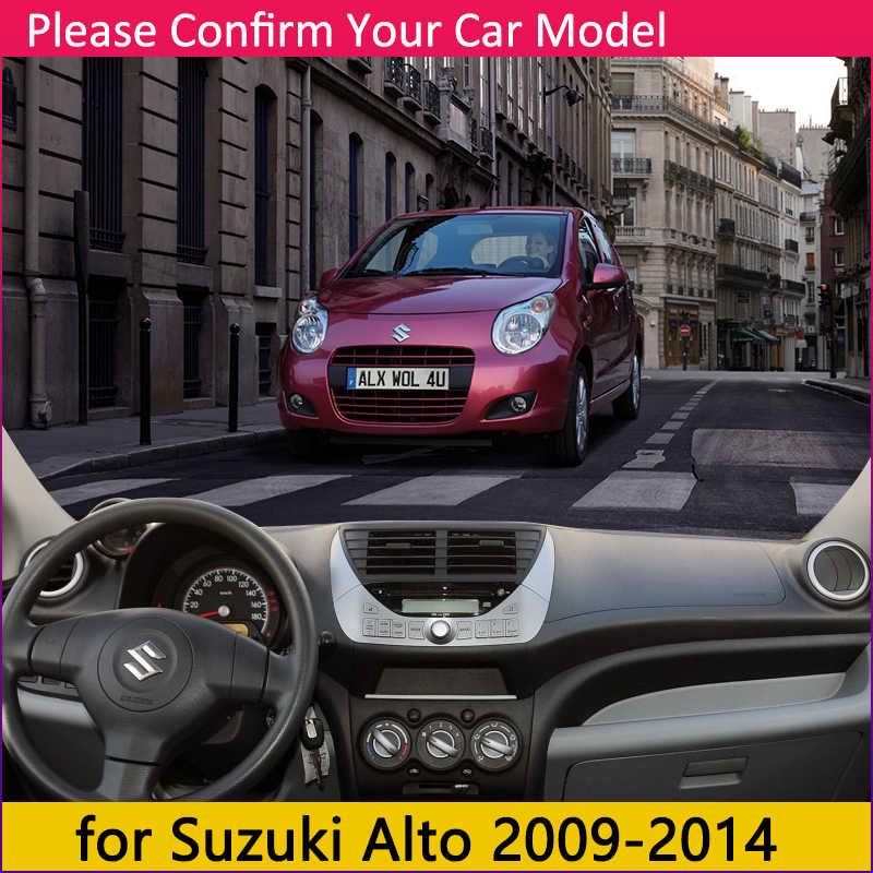 Untuk Suzuki Alto 2009 2010 2011 2012 2013 2014 Sport Anti-Slip Mat Dashboard Cover Pad Kerai Dashmat Melindungi aksesoris Mobil
